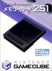 【中古】ニンテンドーゲームキューブ メモリーカード251 -GAMECUBE [メモリカードのみ]