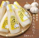 【熊本県産】おろしにんにく100g×2本 にんにく お買い得セット 有機栽培にんにく チューブにんにく 生にんにくおろし