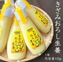 【熊本県】きざみおろし生姜100g×1本 お試し 国産 おろししょうが チューブしょうが 生しょうが