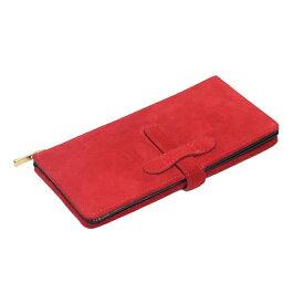 長財布(羊革)ヤンピー カスタマイズ可能でシェアできる財布◆レッドカーペット(ヤンピ&サドルレザー)◇Re-Bone Wallet/リボーン・ウォレット