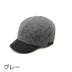 帽子キャップフラノキルトボールcap