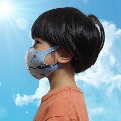 新幹線電車マスク洗える子供用冷感抗菌マスク子供用1枚入り鉄マフぼう鉄道N700Sのぞみドクターイエローこまちはやぶさ