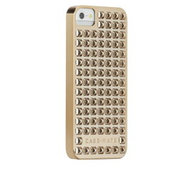 iphoneSE iphone5s iphone5 case-mate ケース There Case Studded Gold