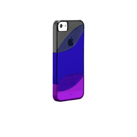 iphoneSE iphone5s iphone5 case-mate ケース Colorways Case, Black/Marine Blue/Violet Purple