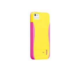 iPhone SE/5s/5 POP! with Stand Case, Solar Yellow/Neon Pink