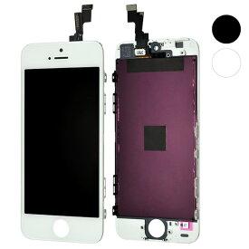 【iPhoneSE互換品】フロントパネル(液晶・ガラスセット) ホワイト 白 ブラック 黒【スマホ修理部品】