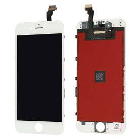 【iPhone6互換品】フロントパネル(液晶・ガラスセット) ホワイト 白 ブラック 黒【スマホ修理部品】