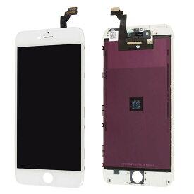 【iPhone6Plus互換品】フロントパネル(液晶・ガラスセット) ホワイト 白 ブラック 黒【スマホ修理部品】