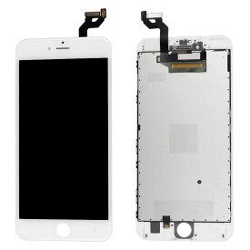 【iPhone6SPlus互換品】フロントパネル(液晶・ガラスセット) ホワイト 白 ブラック 黒【スマホ修理部品】