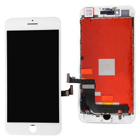 【iPhone7Plus互換品】フロントパネル(液晶・ガラスセット) ホワイト 白 ブラック 黒【スマホ修理部品】