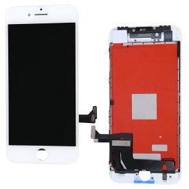 【iPhone8互換品】フロントパネル(液晶・ガラスセット) ホワイト 白 ブラック 黒【スマホ修理部品】