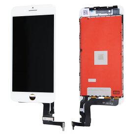【iPhone8Plus互換品】フロントパネル(液晶・ガラスセット) ホワイト 白 ブラック 黒【スマホ修理部品】
