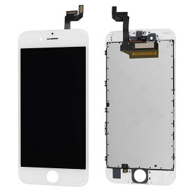 【iPhone6S互換品】高品質フロントパネル(液晶・ガラスセット) ホワイト 白 ブラック 黒【スマホ修理部品】