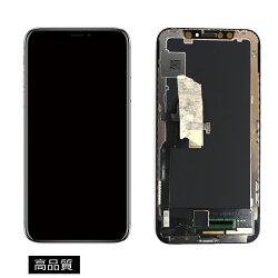 【iPhoneX互換品】高品質フロントパネル(液晶・ガラスセット)ブラック黒【スマホ修理部品】