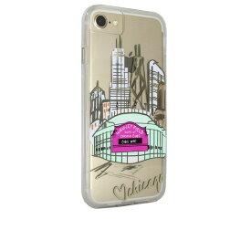 iPhone SE 8 ケース iPhone7 ケース 6s 6 カバー 耐衝撃 タフケース Case-Mate ケースメート City Print Chicago Play Ball ハイブリッド ネイキッド タフ プリント ケース