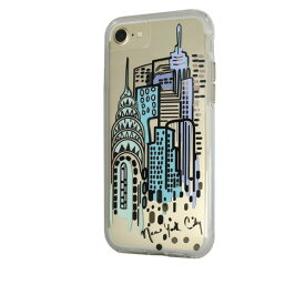 iPhone SE 8 7 ケース 6s 6 カバー 耐衝撃 タフケース Case-Mate ケースメート City Print NY I HEART NYC ハイブリッド ネイキッド タフ プリント ケース