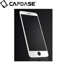 CAPDASE iPhone7 3D Full Glass Clear/White 3D フル ガラス クリアー/ホワイト