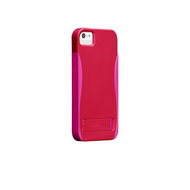 iphoneSE iphone5s iphone5 ケース POP スタンド機能付きケース スタンドケース with Stand Case Ruby Red Shocking Pink case-mate ケースメート