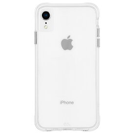 iPhoneXR ケース スリムボディ クリア素材 カスタマイズ可能 Tough Clear-Clear Case-Mate ケースメート 耐衝撃性抜群