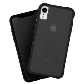 iPhoneXR ケース スリムボディ クリア素材 ブラック Tough-Matte Black Case-Mate ケースメート 耐衝撃性抜群