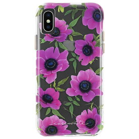 iPhoneXS Max ケース 大胆なプリント 花柄 ピンクポピー Wallpapers-Pink Poppy Case-Mate ケースメート 耐衝撃性抜群