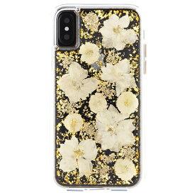 Case-Mate iPhoneXS X Karat Petals - White