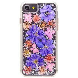 iPhone8 7 6s 6 ケース カバー 耐衝撃 Case-Mate Karat Petals - Purple