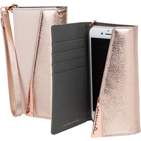 iPhone8 Plus 7 Plus 6s Plus 6 Plus 手帳型ケース Case-Mate Wristlets Folio−Rose Gold