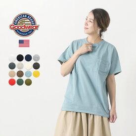 GOODWEAR(グッドウェア) ポケット Tシャツ 半袖 / クルーネック / 無地 / メンズ レディース / ヘビーオンス 厚手 / S/S POCKET TEE
