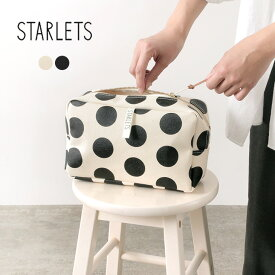 STARLETS(スターレッツ) ドット ポーチ / レディース / 日本製 / バッグインバッグ / トラベルポーチ / コットン キャンバス / DOT POUCH