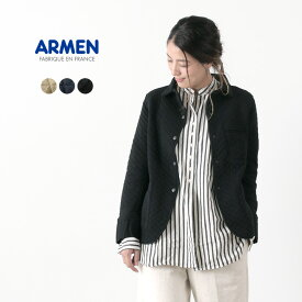 ARMEN(アーメン) コットン キルト シャツカラージャケット / キルティング / ライトアウター / フランス製 / SHIRTS COLLAR JACKET / liou