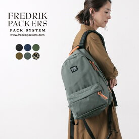 【ポイント5倍!12/1(火)23:59まで】FREDRIK PACKERS(フレドリックパッカーズ) デイパック / バックパック / リュック / メンズ レディース / 500D DAY PACK / 日本製