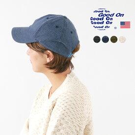 GOOD ON(グッドオン) ソリッド ヘビージャージー ローキャップ / コットン / メンズ レディース / アメリカ綿 / SOLID HEAVY JERSEY LOW CAP / GOGD1808
