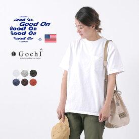 GOOD ON(グッドオン) 別注 ヘビー セットインスリーブ 半袖 ポケット Tシャツ / メンズ レディース / 無地 / 9オンス / ピグメントダイ / アメリカ製生地 / 日本製 / GOST2028
