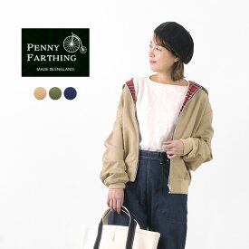 PENNY FARTHING(ペニーファージング) クラシック ハリントンジャケット / ユニセックス / ブルゾン / コットン / ユニセックス / イギリス製 / CLASSIC HARRINGTON JACKET / liou