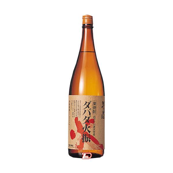 【送料無料】ダバダ火振 栗 25度 無手無冠 1.8L(1800ml) 瓶
