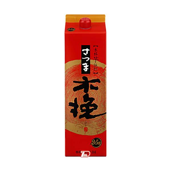 【送料無料1ケース】さつま木挽 〈芋〉 25度 雲海酒造 1.8L(1800ml) パック 6本入★北海道、沖縄のみ別途送料が必要となります
