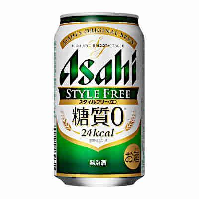 【送料無料3ケース】スタイルフリー 糖質ゼロ アサヒ 350ml缶 24本×3★北海道、沖縄のみ別途送料が必要となります