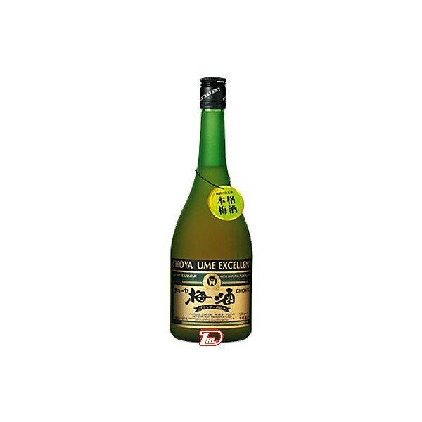 【送料無料1ケース】梅酒エクセレント チョーヤ 750ml 瓶 6本入り