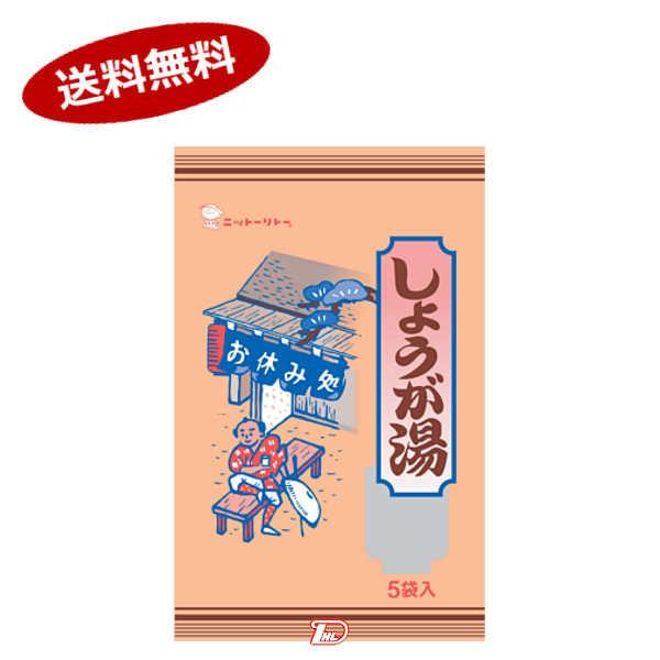 【送料無料1ケース】しょうが湯 日東食品工業 (18g×6袋)×20個入★北海道、沖縄のみ別途送料が必要となりますり