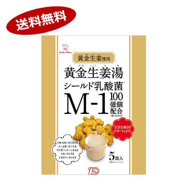 【送料無料1ケース】黄金生姜湯 日東食品工業 (15g×5袋)×12個★北海道、沖縄のみ別途送料が必要となります