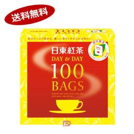 【送料無料1ケース】日東紅茶 DAY&DAY 100BAGS 三井農林 180g(100袋)×12個★北海道、沖縄のみ別途送料が必要となります
