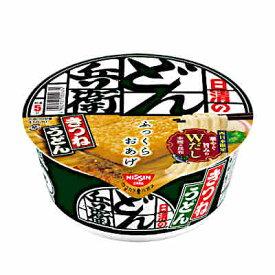 【送料無料1ケース】日清のどん兵衛 きつねうどん[西] 日清食品 12個入り