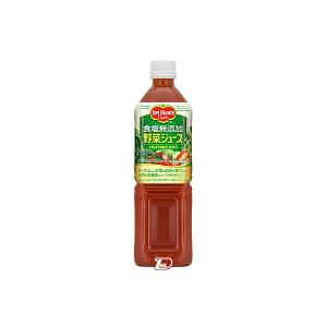 【送料無料1ケース】食塩無添加 野菜ジュース デルモンテ 900gペット 12本入★北海道、沖縄のみ別途送料が必要となります