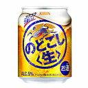 【2ケース】のどごし 〈生〉 キリン 250ml缶 24本入×2