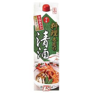 【2ケース】料理専用の清酒パック キング酒造 1.8L(1800ml) パック 6本×2