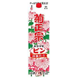 【2ケース】ピン 淡麗仕立 辛口 菊正宗酒造 3L(3000ml) パック 4本入×2