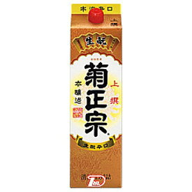【1ケース】本醸造 上撰 菊正宗酒造 1.8L(1800ml) パック 6本入