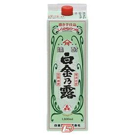 【1ケース】白金乃露 芋 25度 白金酒造 1.8Lパック 6本入