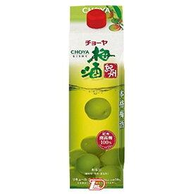 【1ケース】梅酒紀州 チョーヤ 1.0L(1000ml) パック 6本入り